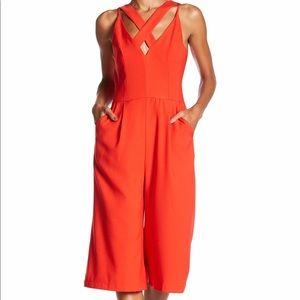 03070bfb251 Adelyn Rae Pants - NWT Adelyn Rae Crisscross Culotte Jumpsuit